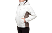 The North Face Women&#039;s Evolution Triclimate Jacket grey/brown